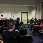 Alunos discutiram sobre a criação de estatuto para organização estudantil