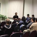 Reunião deu início à construção da primeira organização estudantil do Câmpus