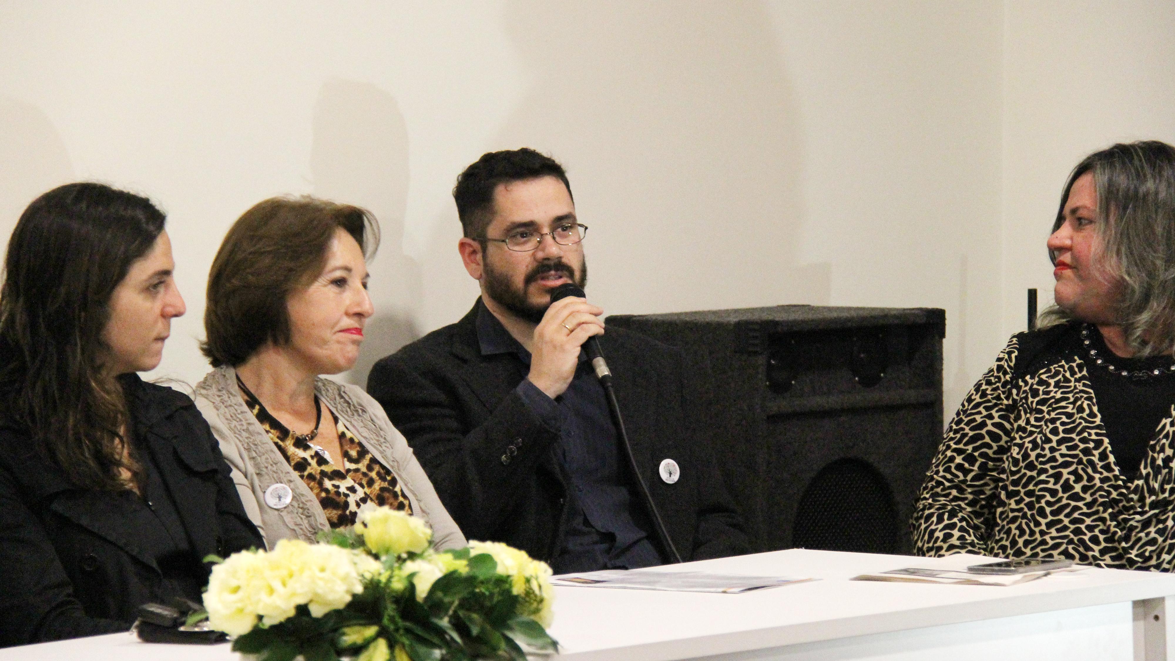 Alexandre Demétrio, presidente da Associação Rio-grandense de Bibliotecários