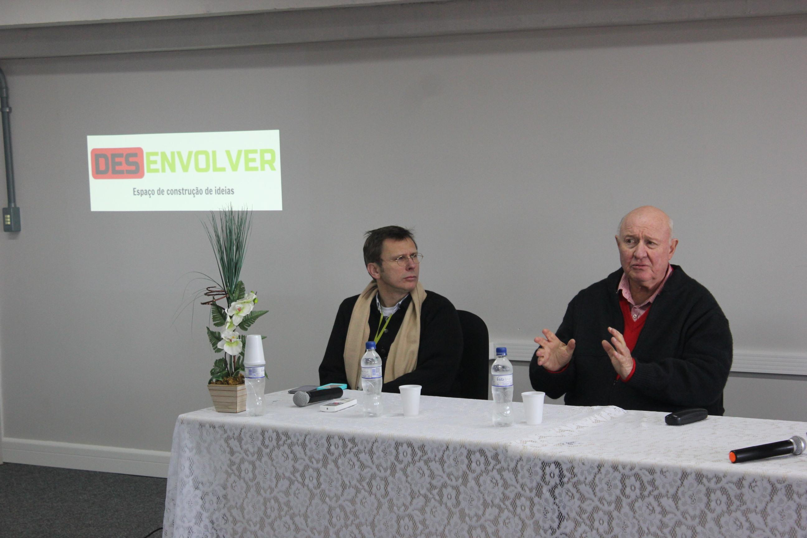 Diretor-presidente da FAURGS, professor Sérgio Nicolaiewski