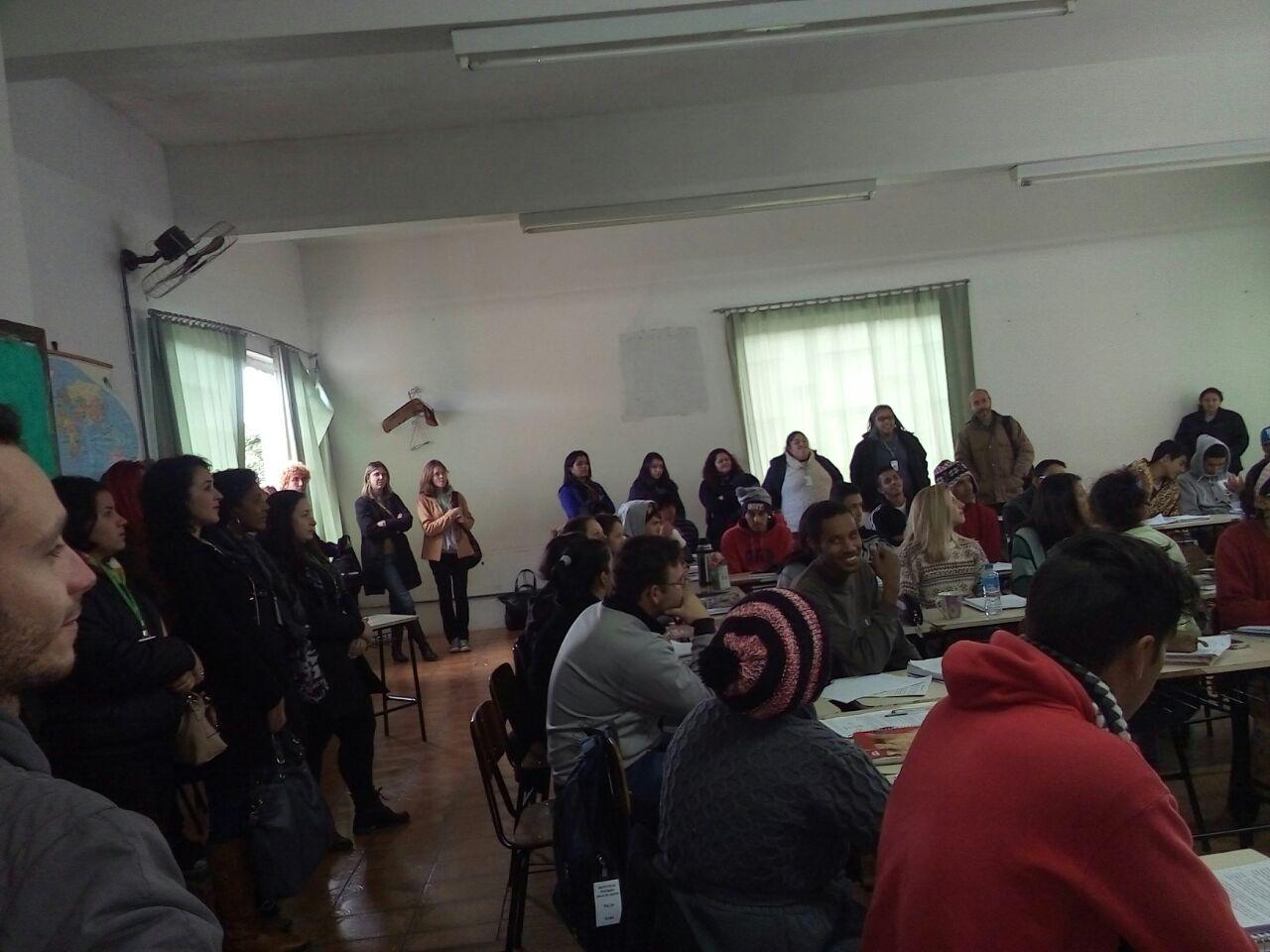 Acadêmicos da LCN em visita técnica ao IEJC