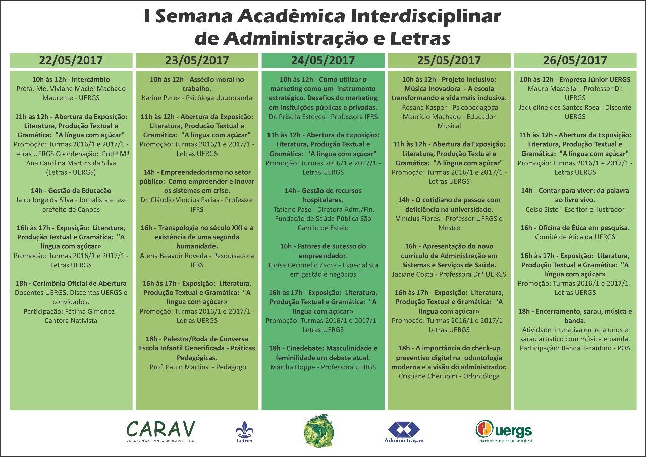Semana Academica UERGS